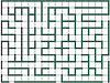 Printed Maze design