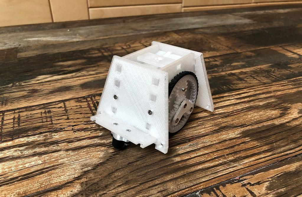3D Printed Paperbot