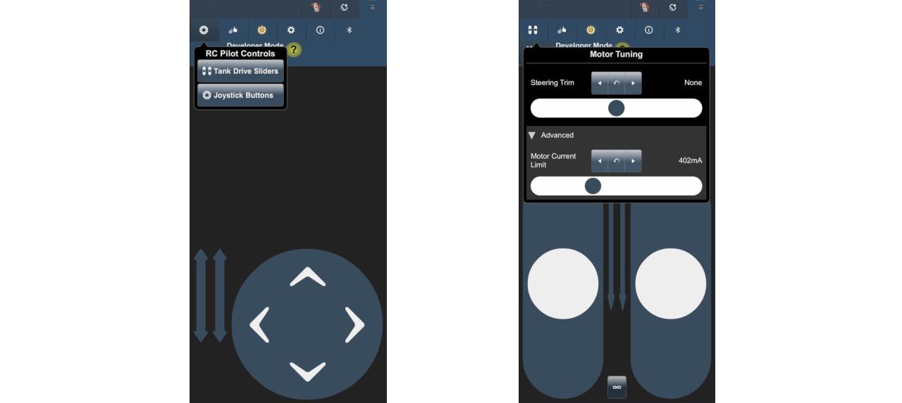 3dot app controls