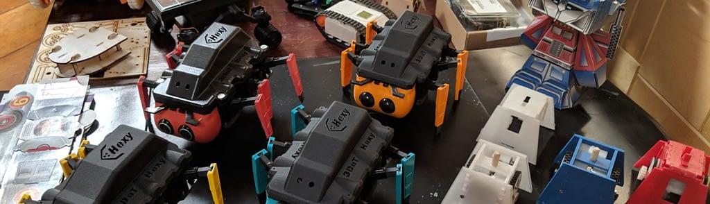 Humans for Robots, all 3DoT robots.