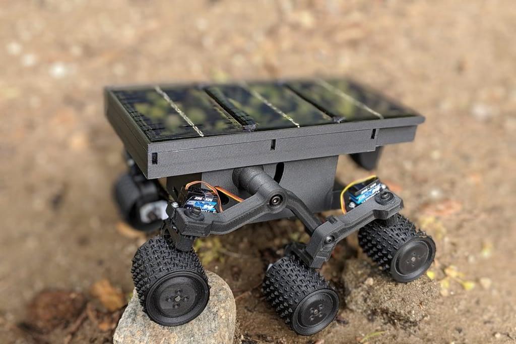 diy robot sojourner