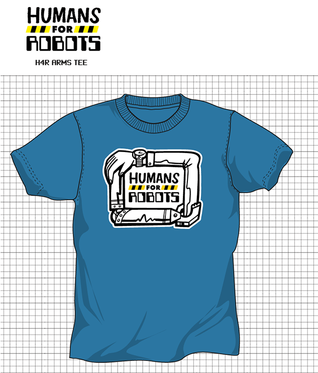 Humans for Robots shirt