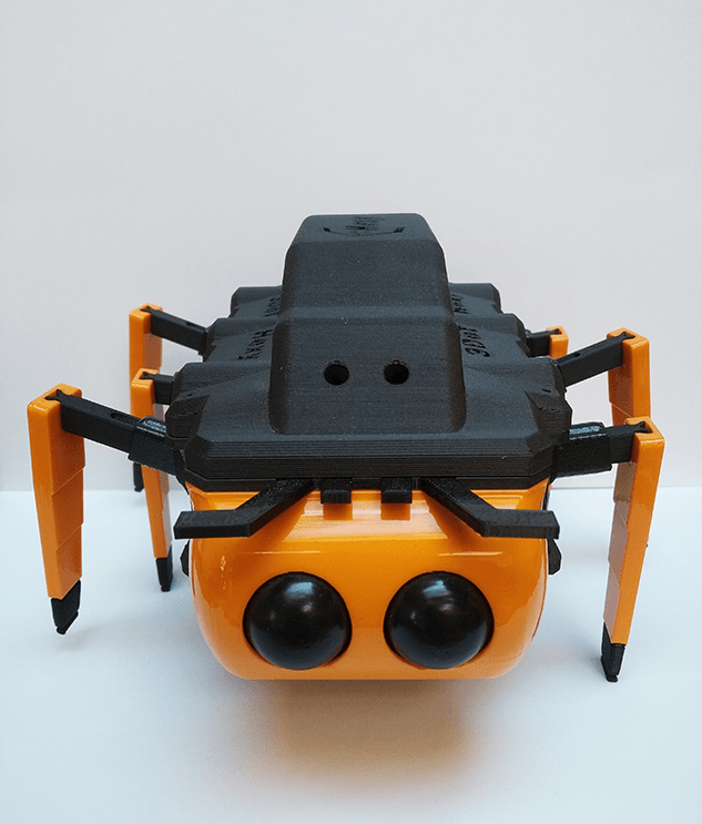 Hexy 3DoT spiderbot
